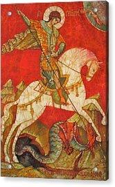 St George II Acrylic Print by Tanya Ilyakhova