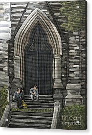 St Georges Parishioners Acrylic Print by Reb Frost
