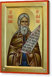 St. Herman Of Alaska Acrylic Print by Daniel Neculae
