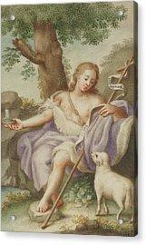 St John The Baptist Acrylic Print by Austrian School