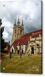 St John The Baptist Church Penshurst Kent Acrylic Print by James Brunker