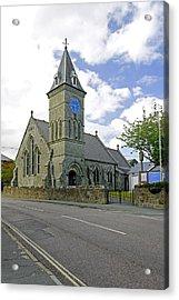 St John The Evangelist Church At Wroxall Acrylic Print by Rod Johnson