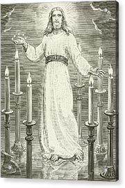 St John's Vision Acrylic Print by English School