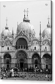 St. Marks Acrylic Print by Donna Corless