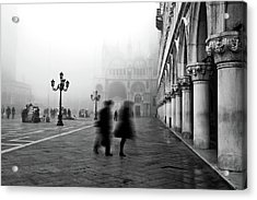 St Mark's Square Acrylic Print by Marion Galt