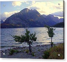 St. Mary Lake Acrylic Print by Marty Koch