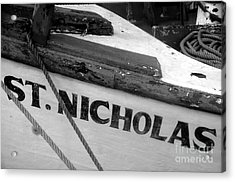 St. Nicholas Acrylic Print by David Lee Thompson