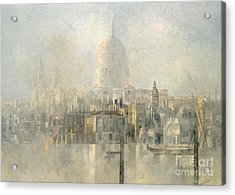 St Paul's Acrylic Print by Peter Miller