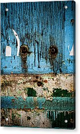 Stained And Weary Acrylic Print by Michelle Sheppard