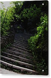 Stairway To Watkins 2 Acrylic Print by InTheSane DotCom
