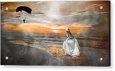 Standing By My Word Acrylic Print by Betsy C Knapp