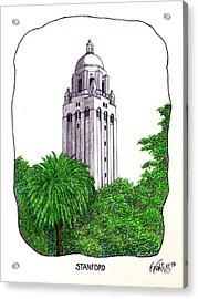 Stanford Acrylic Print by Frederic Kohli