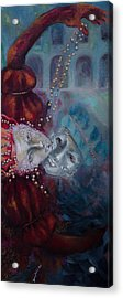 Star-crossed Lovers Acrylic Print by Dorina  Costras
