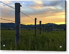 Star Valley Acrylic Print by Chad Dutson