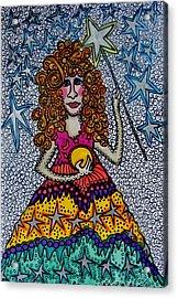 Star Wish  Fairy Acrylic Print by Gerri Rowan