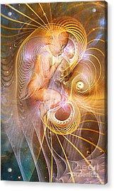 Starchild Acrylic Print by John Edwards