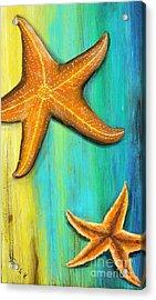 Starfish  Acrylic Print by Gabriela Valencia