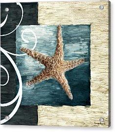 Starfish Spell Acrylic Print by Lourry Legarde