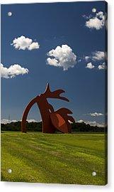 Stargazer Acrylic Print by Bob Retnauer