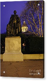 State Capitol Building - Concord New Hampshire Usa Acrylic Print by Erin Paul Donovan
