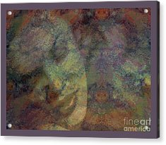 State Of Love Acrylic Print by Moustafa Al-Hatter
