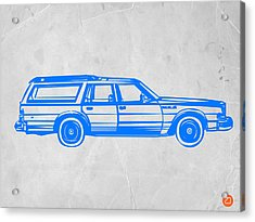 Station Wagon Acrylic Print by Naxart Studio
