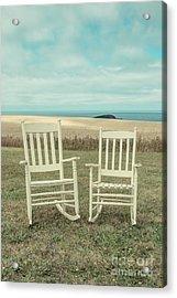 Stay Awhile Prince Edward Island Acrylic Print by Edward Fielding