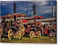 Steam Power Acrylic Print by Chris Lord