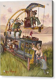 Steam Powered Rodent Remover Acrylic Print by Jeff Brimley