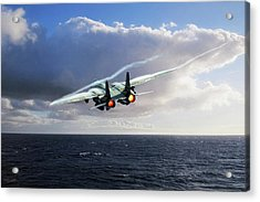 Steamed Acrylic Print by Peter Chilelli
