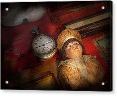Steampunk - 9-14  Acrylic Print by Mike Savad