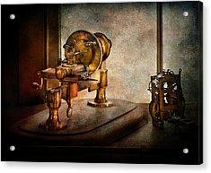 Steampunk - Gear Technology Acrylic Print by Mike Savad