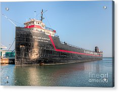 Steamship William G. Mather I Acrylic Print by Clarence Holmes