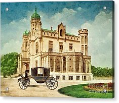 Stein Palace Acrylic Print by Mo T