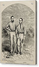 Stephenson And Caffyn. H.h. Stephenson Acrylic Print by Vintage Design Pics