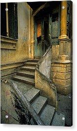 Steps. Acrylic Print by Tarek Charara