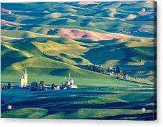 Steptoe View Acrylic Print by Todd Klassy