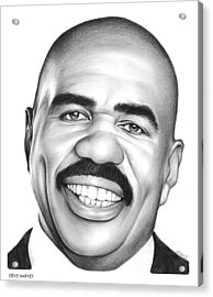 Steve Harvey Acrylic Print by Greg Joens