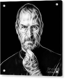 Steve Jobs Collection Acrylic Print by Marvin Blaine