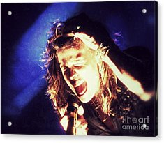 Steven In Color Acrylic Print by Traci Cottingham