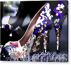 Stiletto Acrylic Print by Barb Pearson