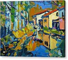 Still Creek Acrylic Print by Brian Simons