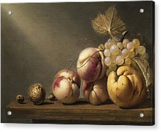Still Life Acrylic Print by Harmen Steenwyck