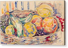 Still Life  Acrylic Print by Paul Signac