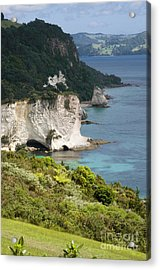 Stingray Cove Acrylic Print by Himani - Printscapes