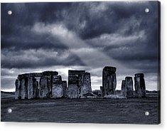 Stonehenge Acrylic Print by  Jaroslaw Grudzinski