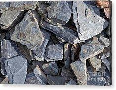 Stones Acrylic Print by Michal Boubin