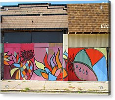 Store Front Art Acrylic Print by David Kyte