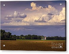 Storm A Coming Acrylic Print by Marvin Spates