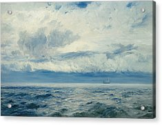 Storm Brewing Acrylic Print by Henry Moore